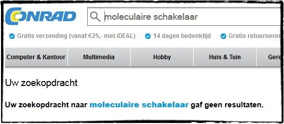 moleculaire schakelaar
