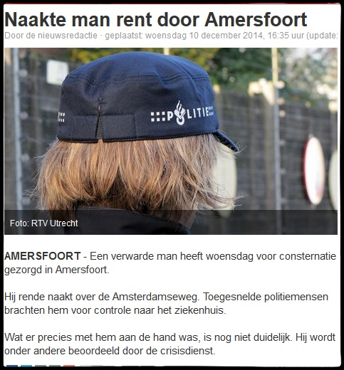 man in amersfoort